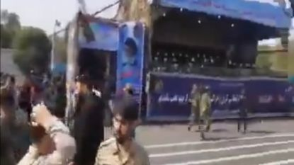 Dodelijke aanval op militair defilé in Iran