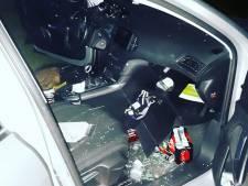 Politie vist auto-inbreker uit vijver in Beek