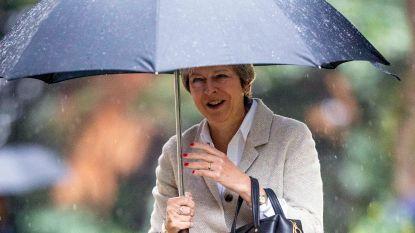 Theresa May houdt vast aan Chequers-plan