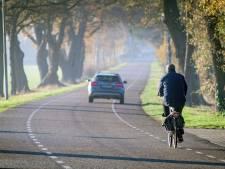 Noodzaak fietspad Langeveen op ludieke wijze in beeld