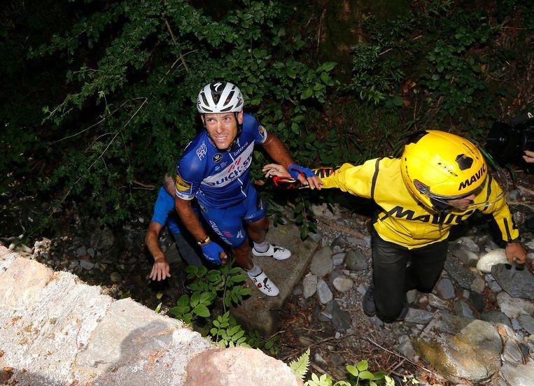 Gilbert moest de Tour vorig jaar verlaten na een zware val.