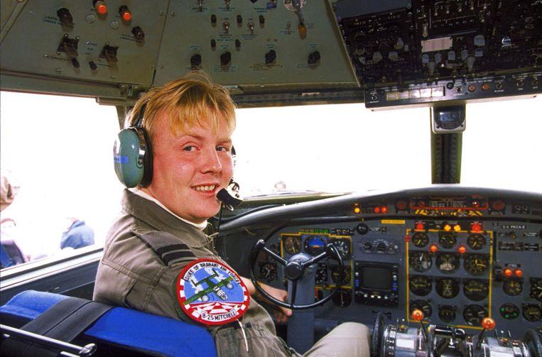 In de cockpit van de Fokker F27 Friendship. Beeld anp