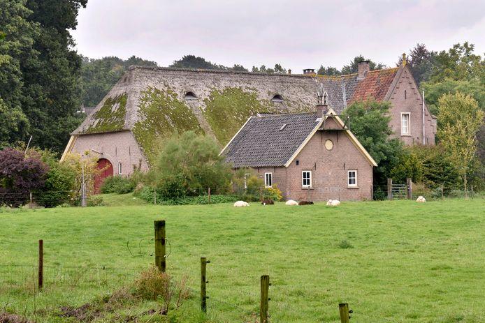 De oude boerderij Borchkeppel, die haar functie als boerenbedrijf verliest en louter een woonbestemming overhoudt.