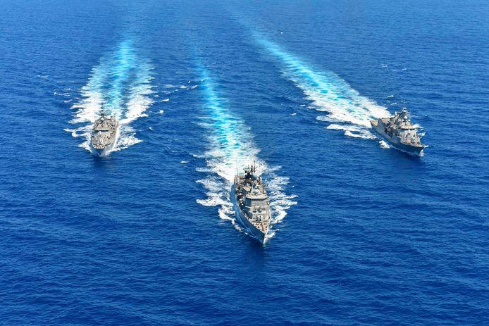 Griekenland en Turkije zijn al lang verwikkeld in een conflict over de territoriale wateren tussen Cyprus en Kreta.