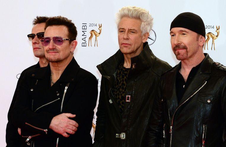 U2. Beeld afp