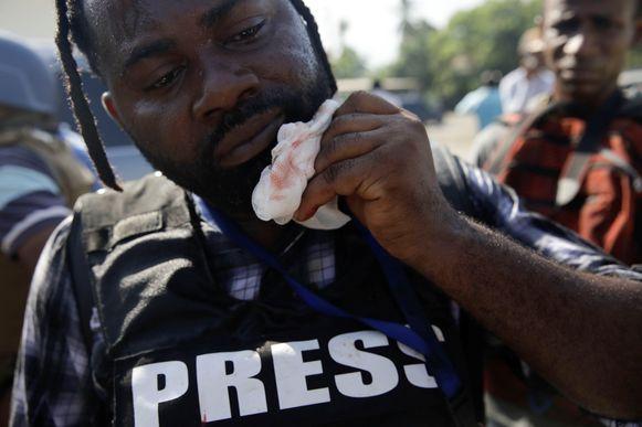 Fotograaf Dieu Nalio Chery werd geraakt aan de kaak.