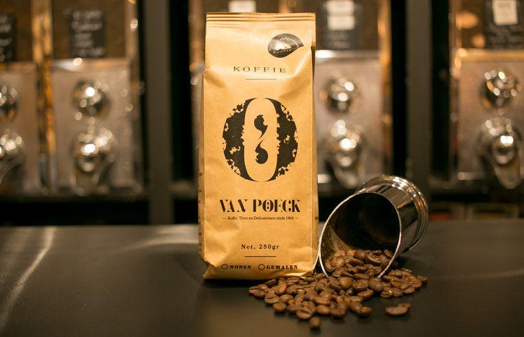 Koffie van Van Poeck.