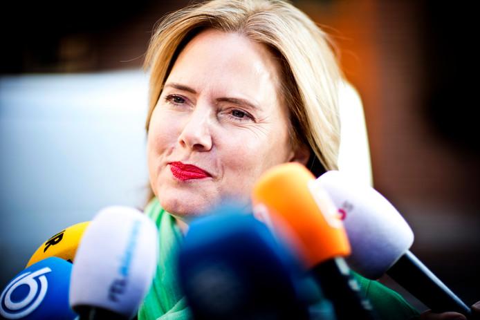 DEN HAAG - Cora van Nieuwenhuizen (VVD), minister van Infrastructuur en Waterstaat