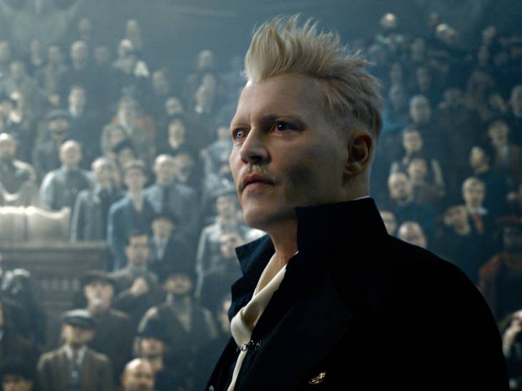 Johnny Depp regeert in vervolg Fantastic Beasts