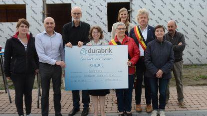 Cheque van 1.000 euro voor Dorizon Doenja