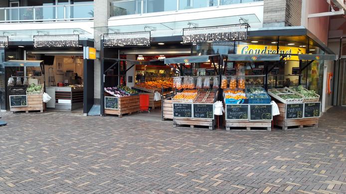 De groente- en fruithandel De Goudreinet in Veenendaal blijft ook dicht op zondag.