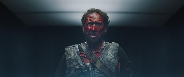 Nicolas Cage in Mandy. Beeld