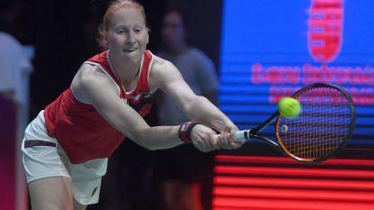 Alison Van Uytvanck bereikt derde WTA-finale in haar carrière