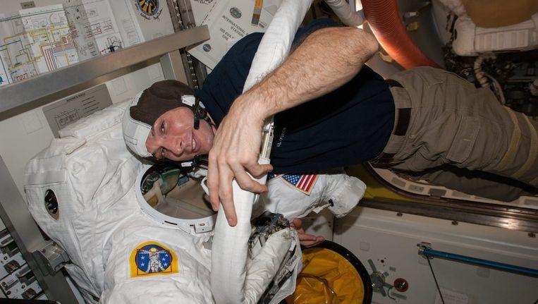 Astronaut Mike Hopkins. Beeld epa