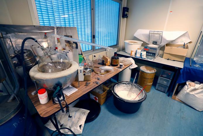 Een opgerold drugslab in Eindhoven
