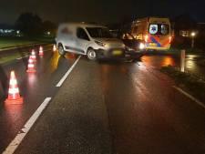 Weg afgesloten door ongeval op N738 bij Deurningen