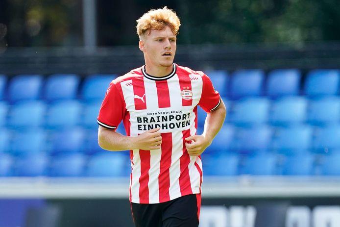 Yorbe Vertessen, een talenvolle aanvaller bij Jong PSV.