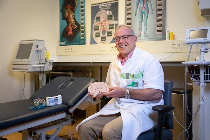 Marcel Smits nam deze week afscheid van het ziekenhuis in Ede.