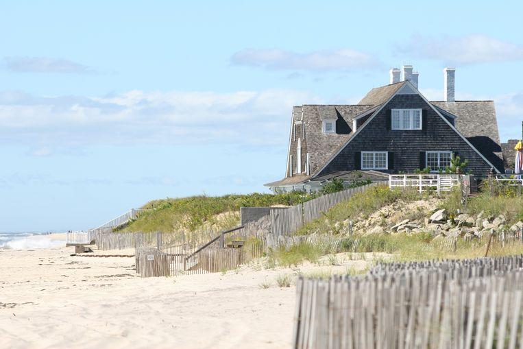 Een beach house in The Hamptons.