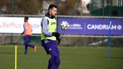 Chadli traint weer mee, Anderlecht zonder spits tegen Eupen?