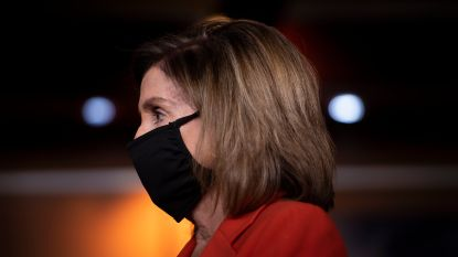 Nancy Pelosi wil dragen van mondmasker in VS verplichten