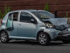 Persoon raakt gewond na ongeval op de A28