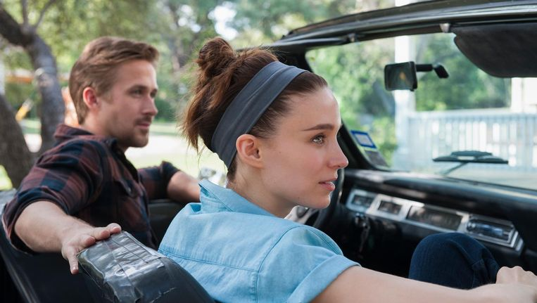 Ryan Gosling & Rooney Mara in Song to Song