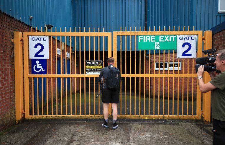 Bij Bury FC blijven de poorten voortaan gesloten.