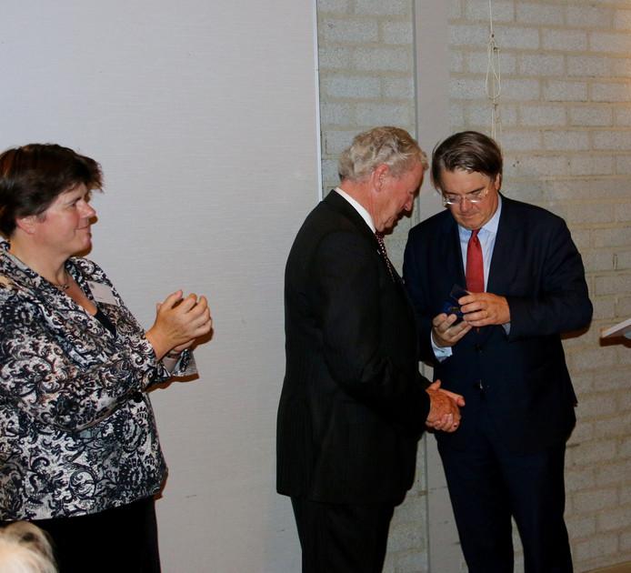 Wick Bannenberg krijgt de Commissarispenning.