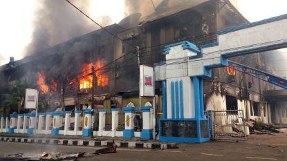 Protest in Indonesië loopt uit de hand: parlementsgebouw in brand gestoken