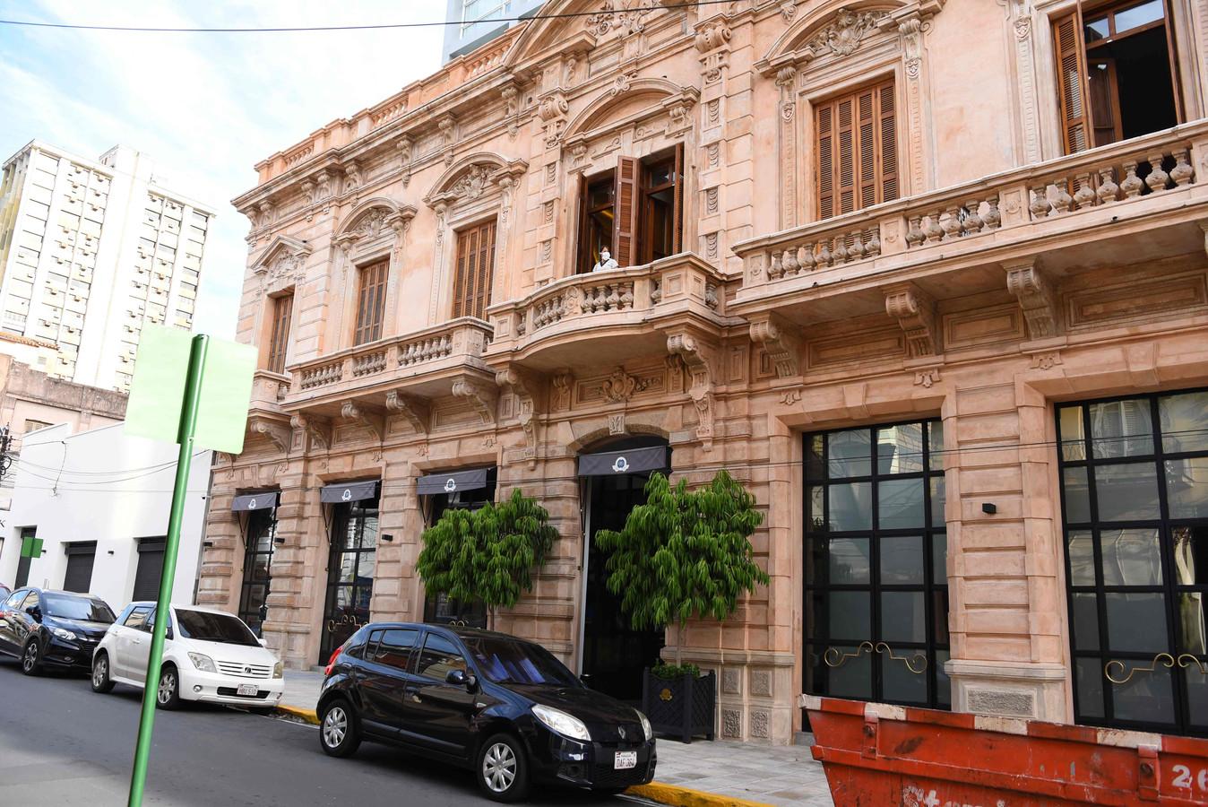 L'hôtel d'Asuncion où Ronaldinho est assigné à résidence