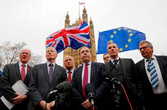 Leden van de Noord-Ierse partij DUP.