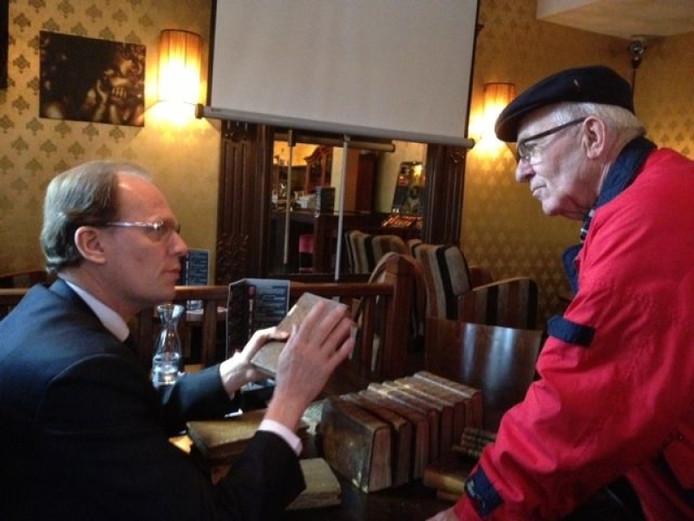 Taxatiemiddag met Arie Molendijk.