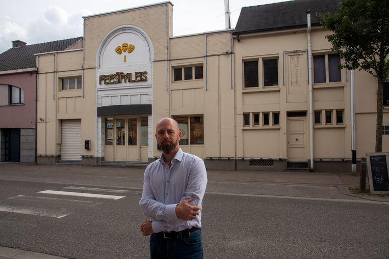 Peter Vermeulen, de nieuwe eigenaar van het Feestpaleis in Beervelde