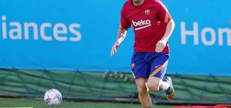 Messi hervat groepstraining onder Koeman