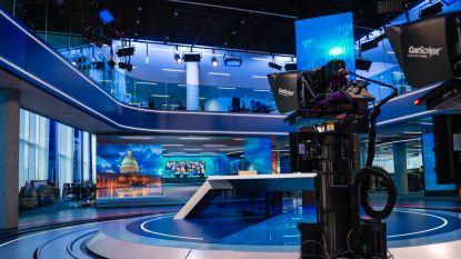 """Een glimp van de gloednieuwe studio van VTM Nieuws: """"Maandag wordt een historische dag"""""""