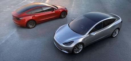 Weer productiestop Tesla Model 3