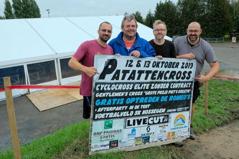 De Patattencross wordt komend weekend in Nossegem georganiseerd.