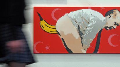 Duitse politie bewaakt museum dat provocerend Erdogan-kunstwerk toont