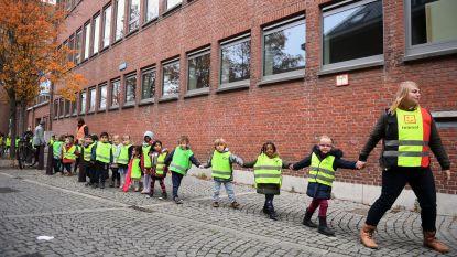 Leerlingenketting voor eengemaakte schoolcampus