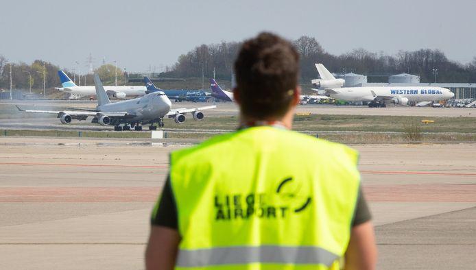 Liege Airport, le 8 avril dernier.