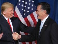 Romney 'ziek' na lezen rapport Mueller over Trump