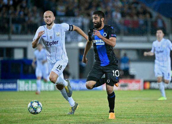 Rezaei liet in Linz nog een uitstekende kans op de 0-2 onbenut.