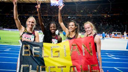 """Belgian Cheetahs lopen nationaal record: """"Het record was het doel, maar we zijn ook voor een medaille gegaan"""""""