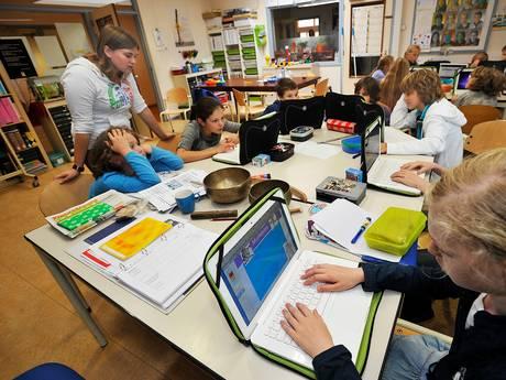Alle basisscholen in regio Tilburg plat, zo'n twintig bussen naar Den Haag