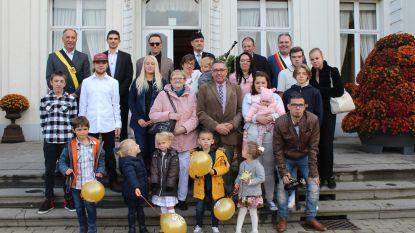 Familie De Wulf uit Wippelgem gevierd voor 50ste huwelijksverjaardag