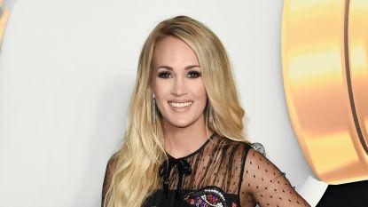 Carrie Underwood drie dagen in ziekenhuis met ernstig virus