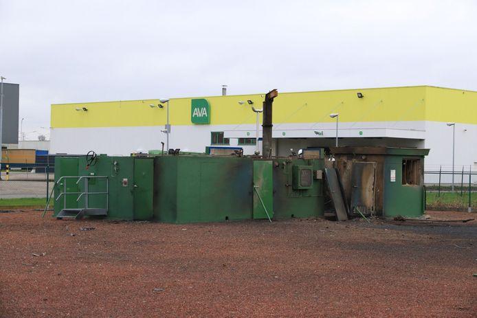 De ontploffing deed zich voor in dit station van Air Liquide in de Kapelanielaan.