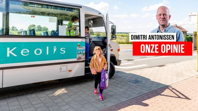 ONZE OPINIE. Corona kan geen excuus zijn om kinderen zes uur per dag op een schoolbus te zetten