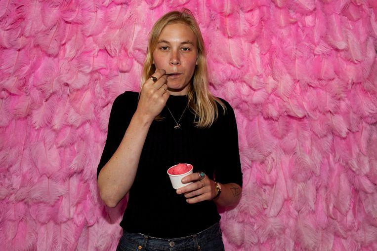 Anna Aagaard Jensen: 'Ik ben niet tegen verschillen tussen mannen en vrouwen, wel tegen ongelijkheid!' Beeld Renate Beense